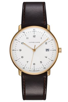 Junghans 041/7872.00 max bill Quarz Herrenuhr