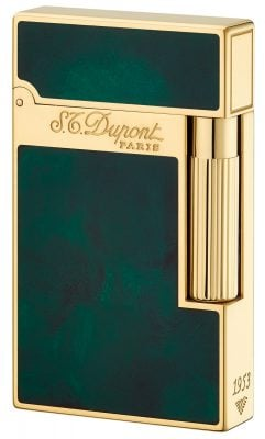 S.T. Dupont 16259 Feuerzeug Linie 2 Chinalack Grün