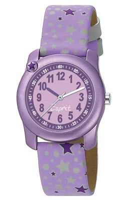 Esprit ES105284002 Little Star Purple Mdchenuhr-Set