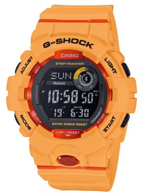 Casio GBD-800-4ER G-Shock G-Squad Bluetooth Digitaluhr mit Schrittzähler