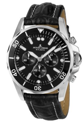 Jacques Lemans 1-1907ZA Herren-Chronograph Liverpool Diver