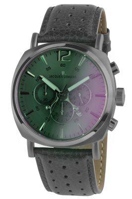 Jacques Lemans 1-1645M Herren-Chronograph Lugano