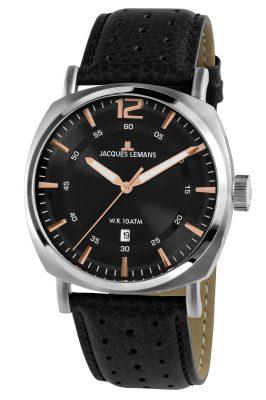 Jacques Lemans 1-1943A Herren-Armbanduhr Lugano