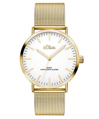 s.Oliver SO-3238-MQ Damen-Armbanduhr