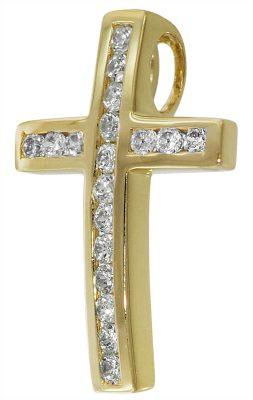 35380 Gold Kreuz-Anhänger