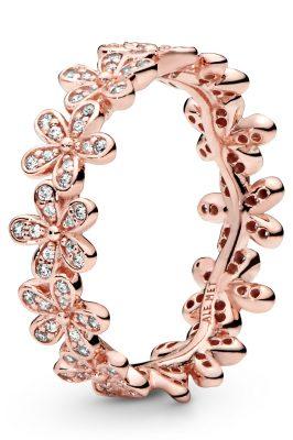 Pandora 180934CZ Rose Damenring Gänseblümchen