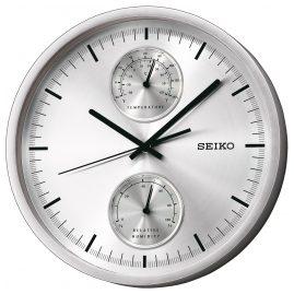 Seiko QXA525S Wanduhr mit Thermo- und Hygrometer