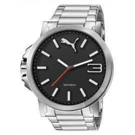 Puma PU103461003 Ultrasize Metal Black Herrenuhr