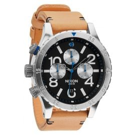 Nixon A363 1602 48-20 Chrono Herrenuhr Natural