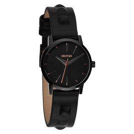 Nixon A398 1669 Kenzi Leather All Black Studded Watch