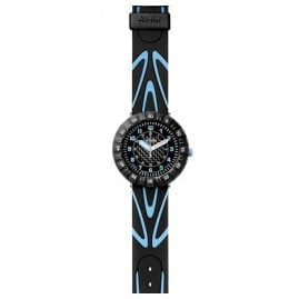 Flik Flak FCS023 Shaped Blue Kinderuhr