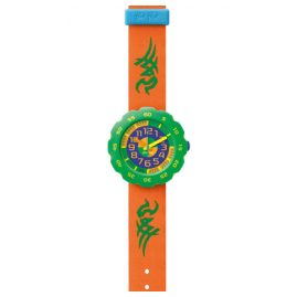 Flik Flak FPSP002 Pres-Cool Boy in Orange Kinderuhr