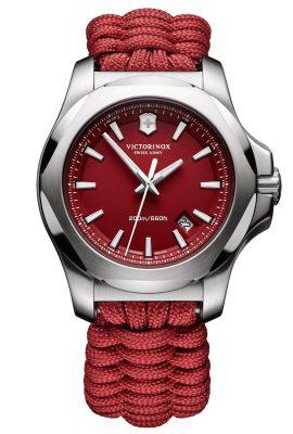 Victorinox 241744 I.N.O.X. Paracord Uhr Rot