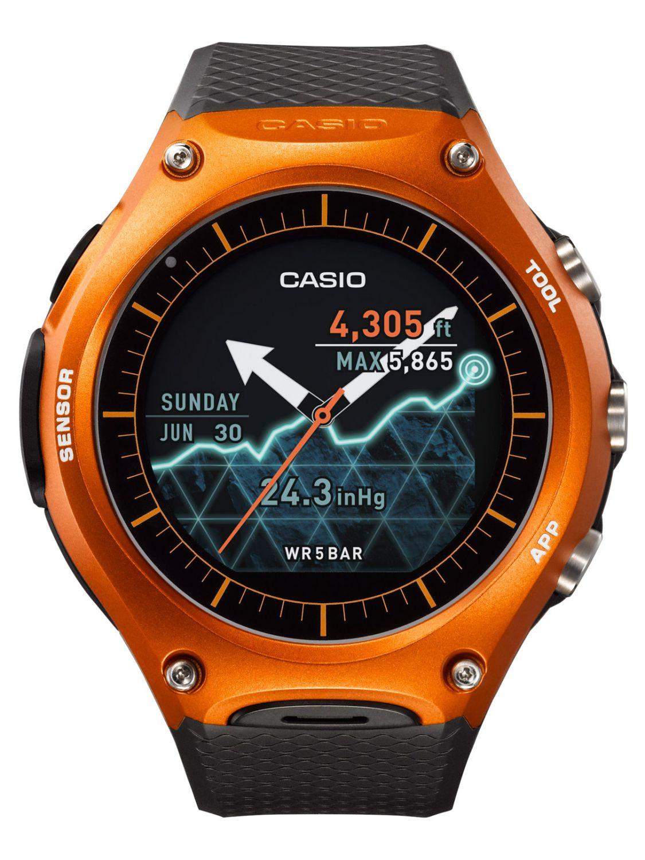 Casio WSD-F10RGBAE Smart Outdoor Uhr Orange