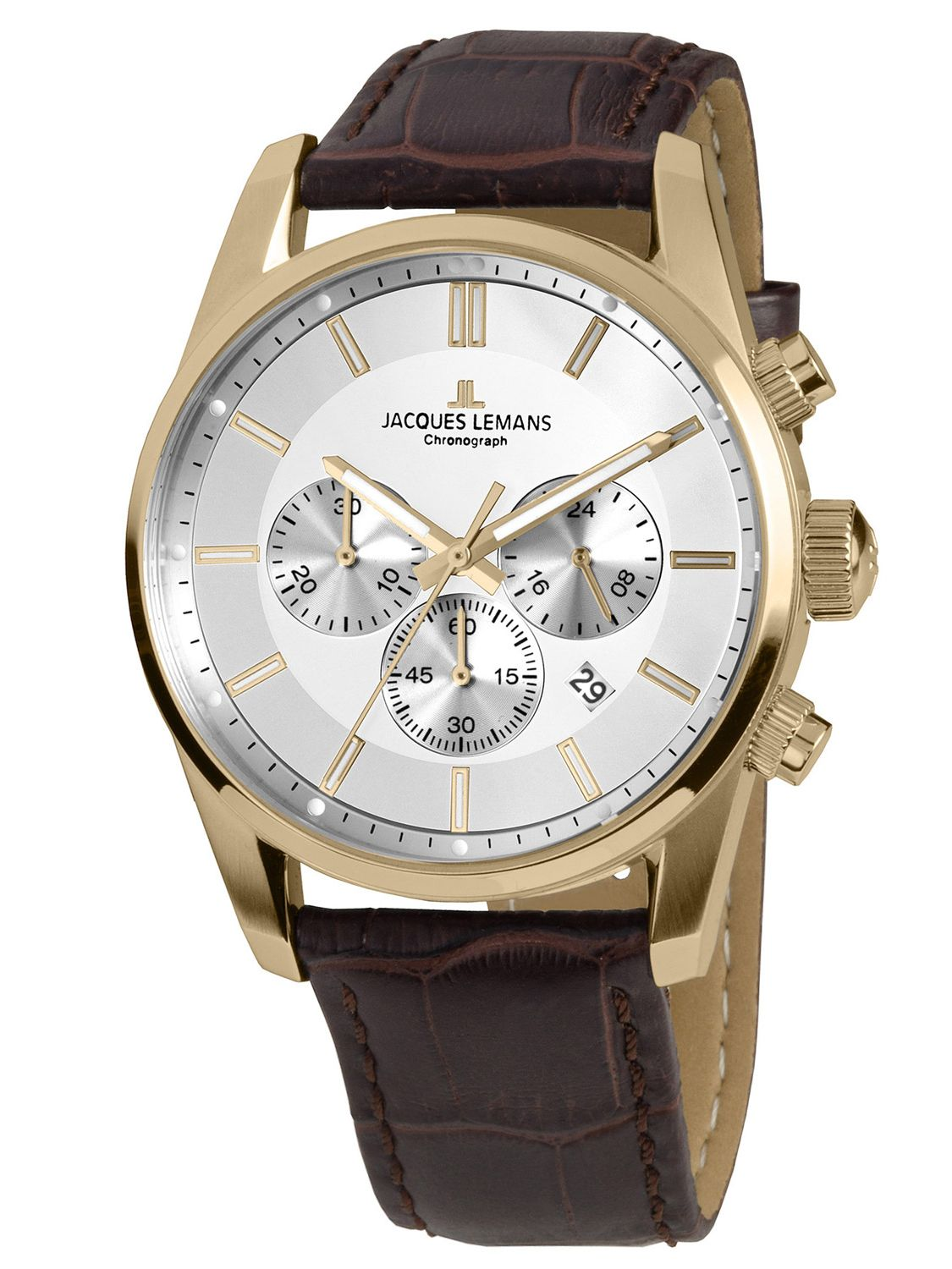 Jacques Lemans 42-6D Herrenuhr Chronograph Classic