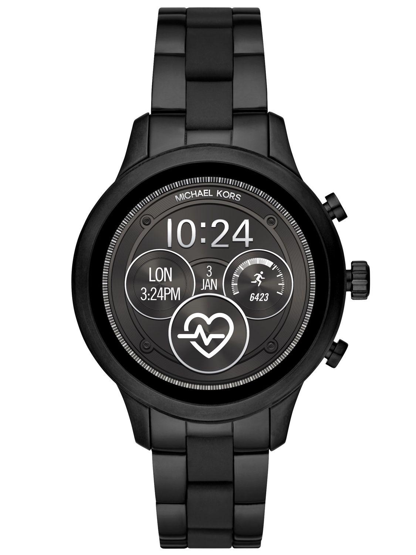 Michael Kors Access MKT5058 Damenarmbanduhr Smartwatch Runway Schwarz
