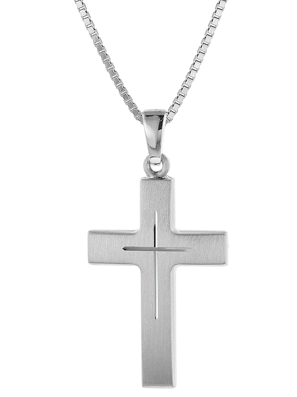 trendor 60712 Silber Kreuz mit Kette Preisvergleich