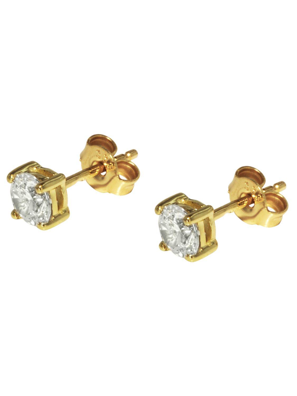 Vorschaubild von trendor 71293 Gold Ohrringe
