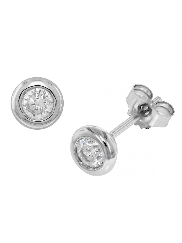 Vorschaubild von trendor 35245 Ohrringe mit Diamanten