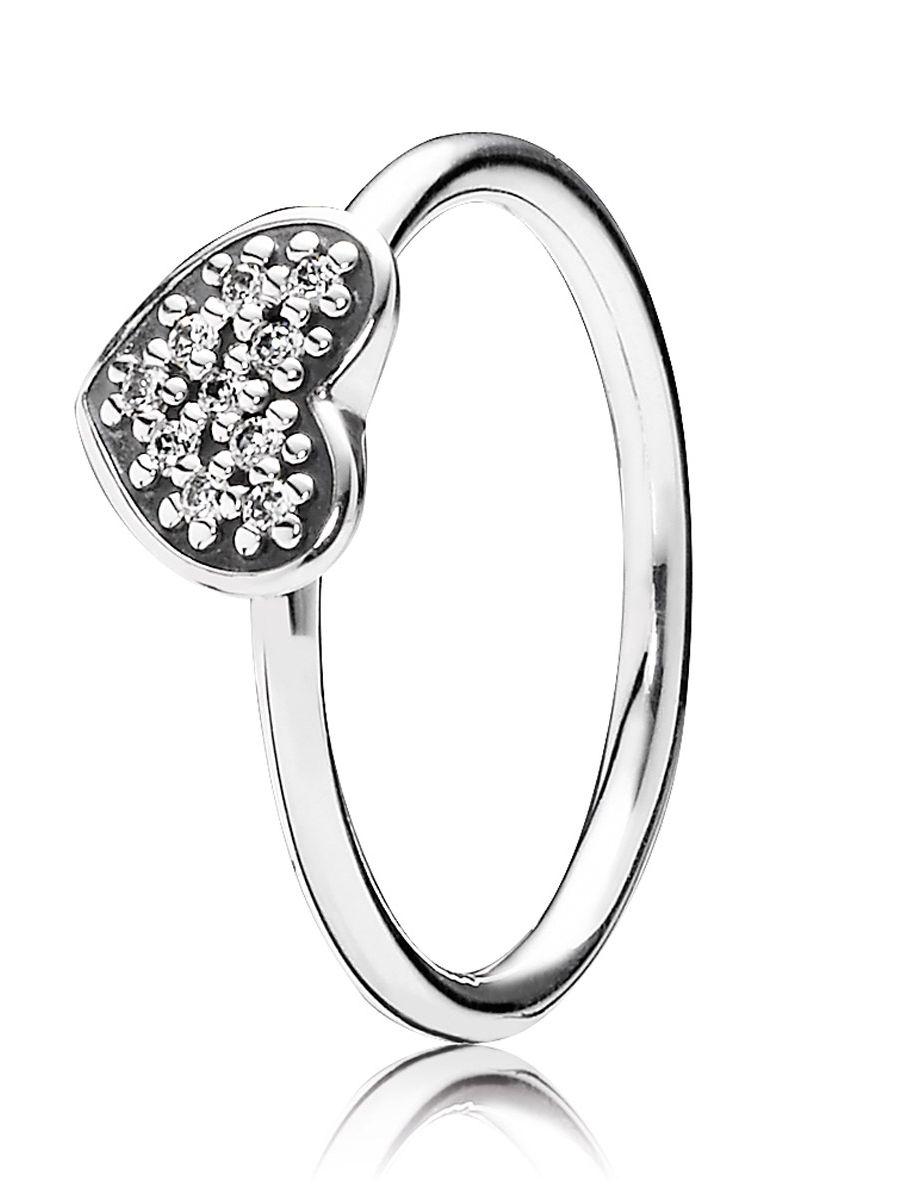 Uhrcenter.de  Pandora 190890CZ Damen-Ring Herz