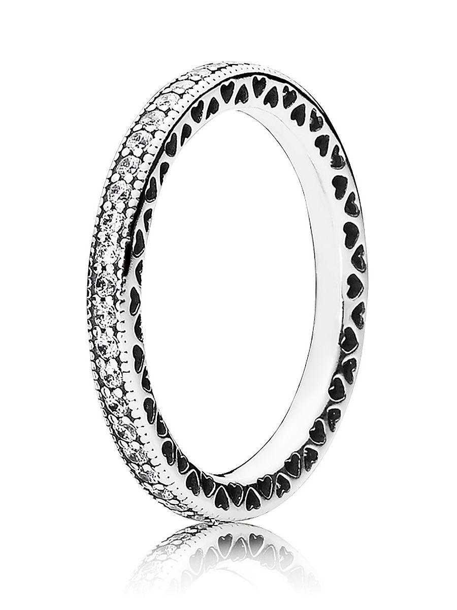 Uhrcenter.de  Pandora 190963CZ Damen-Ring Unendliche Herzen