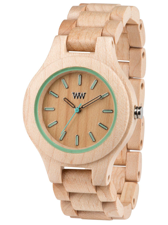 ww24001 antea azur holz damenuhr von wewood online kaufen armbanduhrenhaus. Black Bedroom Furniture Sets. Home Design Ideas