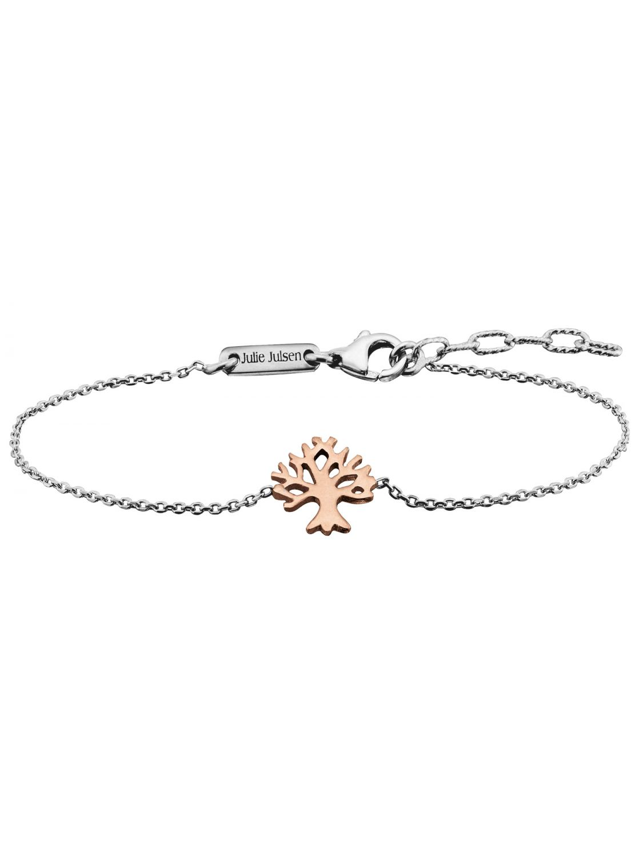Julie Julsen JJBR9674.4 Armband Lebensbaum Rosé