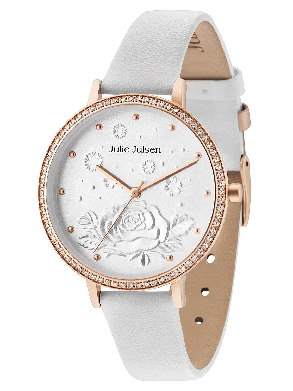 Julie Julsen JJW51RGL-9 Damenarmbanduhr mit Lederband
