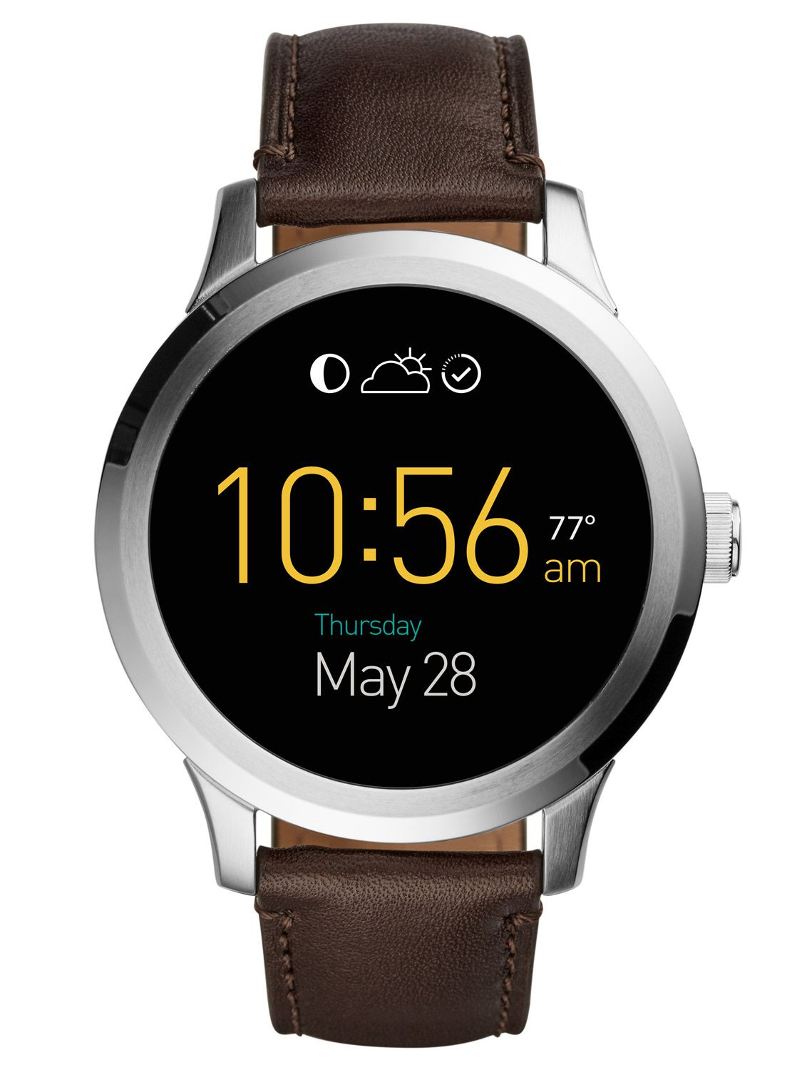 Fossil Q FTW20012 Smartwatch Q Founder Touchscr...