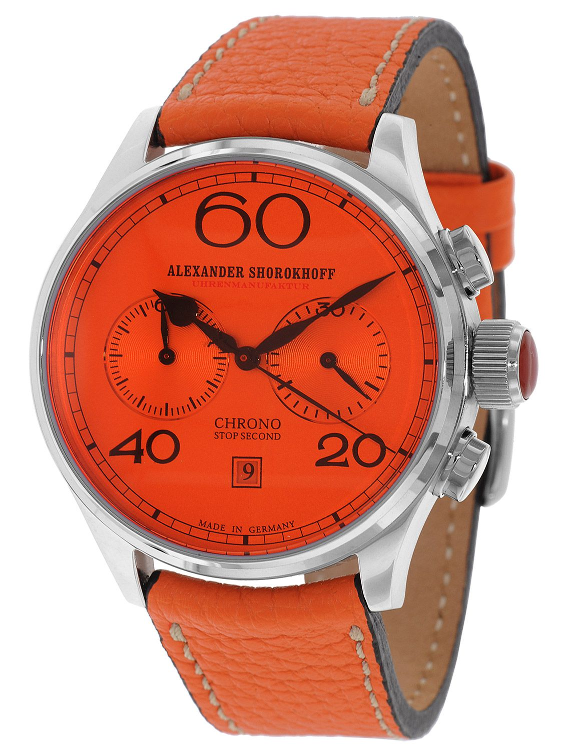 Alexander Shorokhoff AS.C01-1GCR Avantgarde Red Handaufzug Chronograph