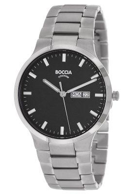 Boccia 3638-03 Herrenuhr Titan