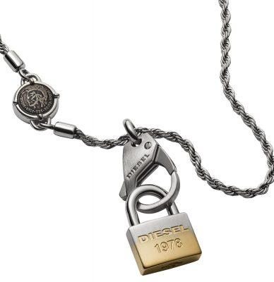 Diesel DX1203040 Halskette für Herren