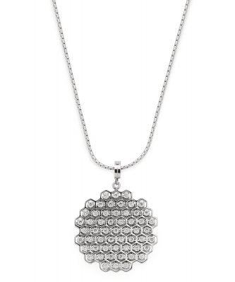 Leonardo 016997 Damen-Halskette Tosca Clip & Mix