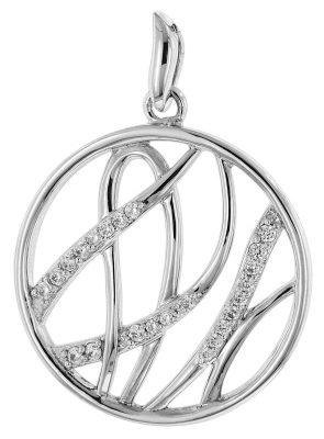 trendor 80760 Silber Zirkonia Anhänger