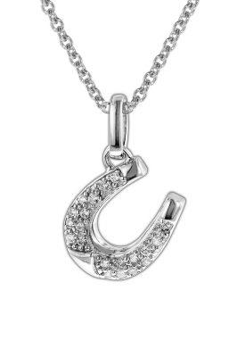 trendor 35824 Kinder-Halskette mit Hufeisen Silber 925
