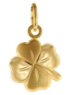 trendor 75620 Anhänger Glücksklee Gold 333 / 8 Karat