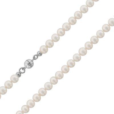 trendor 75485 Perlenkette Süßwasser-Zuchtperlen 5,5 mm