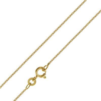 trendor 39692 Halskette für Anhänger Gold 333 / 8K Venezianer Kette 0,7 mm