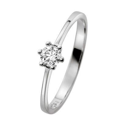 trendor 532456 Diamant-Ring für Heiratsantrag 585 Weißgold