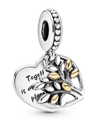 Pandora 799161C00 Charm-Anhänger Familienbaum Silber
