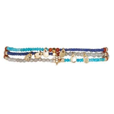 Hipanema H19PARUNA Damen-Armband Parure Navy