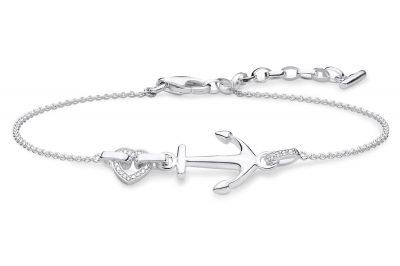 Thomas Sabo A1854-051-14-L19v Damen-Armband Anker mit Herz
