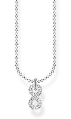 Thomas Sabo KE2067-051-14-L45v Silber-Halskette Unendlichkeit