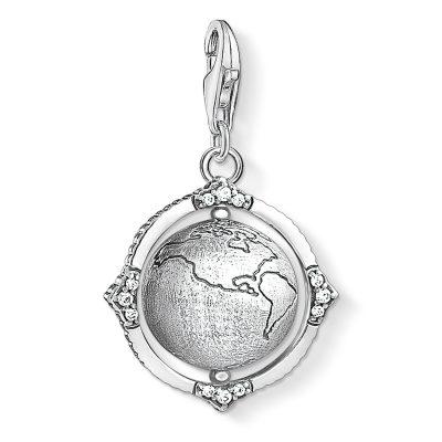 Thomas Sabo 1676-643-14 Charm-Anhänger Weltkugel