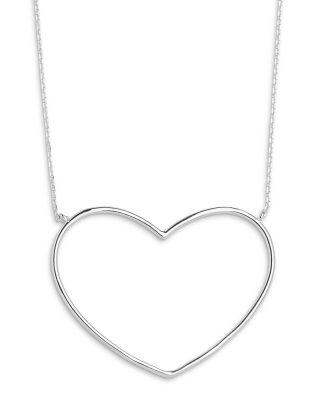 Xenox XS1767 Silber-Halskette für Damen Heart Beat