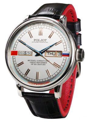 Poljot International 2427.1546511 Herrenuhr Automatik Gorbatchov