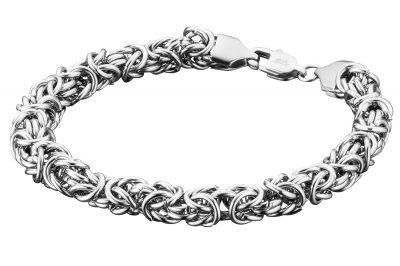 Save Brave SBB-DEAN Herren-Armband Königskette Edelstahl Dean
