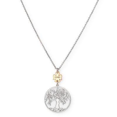 Amen CLALABR3 Damen-Halskette Lebensbaum 925 Silber