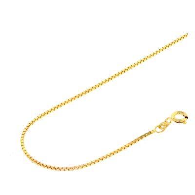 Acalee 10-2012 Halskette 333 Gold / 8 Karat Venezianer-Kette 1,2 mm