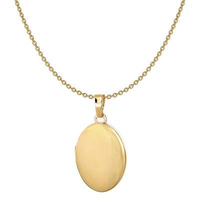 Acalee 30-3003 Medaillon und Halskette Gold 333 / 8K